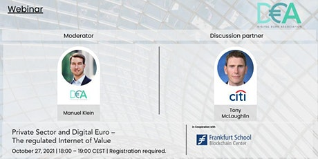 Private Sector and Digital Euro – The regulated Internet of Value tickets