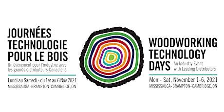 Woodworking Technology Days - 2021 | Journées technologie pour le bois tickets