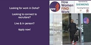 How Women FIND Work - Jobseekers' Conference &...