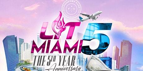 Lit Miami 5th Anniversary (Thanksgiving Weekend) tickets