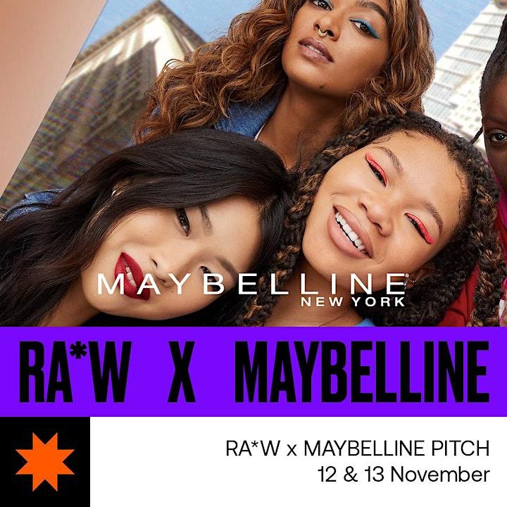 RA*W PITCH | Maybelline Gen-Z campaign image