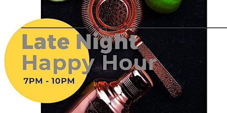 INTERMISSION | Late Night Happy Hour at BERGERAC tickets