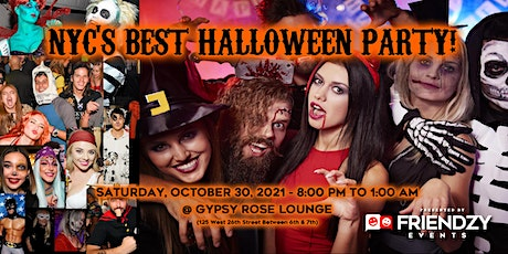 NYC Singles Halloween Party! Costumes, DJ, Prizes, Cocktails, Fun! tickets