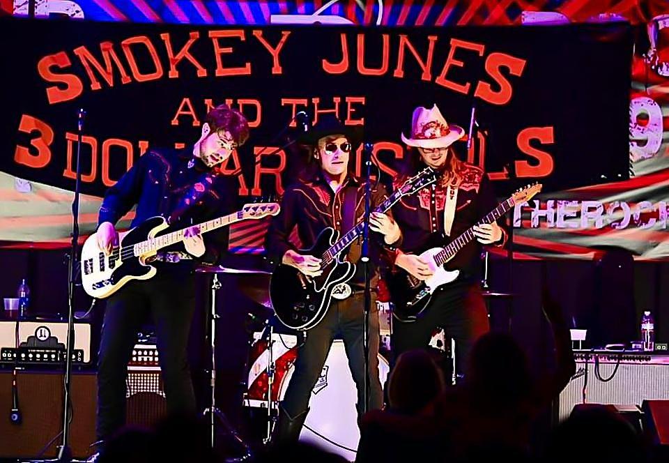 Smokey Jones and the 3 Dollar Pistols – Country & Honky-tonk