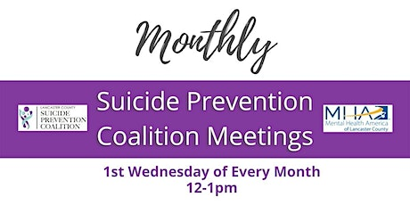 Suicide Prevention Coalition Meetings tickets