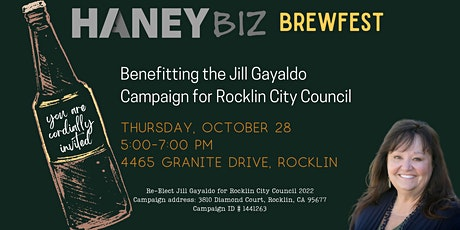 HaneyBiz  Brewfest Benefitting The Jill Gayaldo Campaign tickets