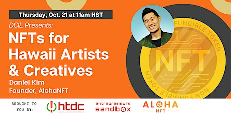 DCIL Presents - NFTs for Hawaii Artists & Creatives tickets