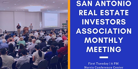 San Antonio Real Estate Investing General Meeting tickets