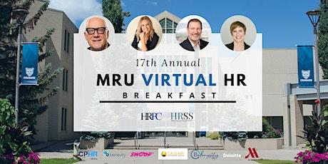 MRU's 17th Annual HR Breakfast tickets