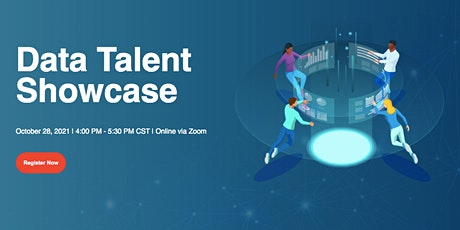 Data Talent Showcase - October 28, 2021 tickets