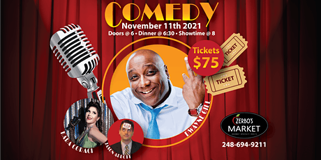 Comedy & Dinner tickets