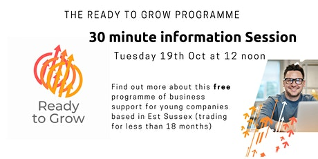 Ready to Grow Information session tickets