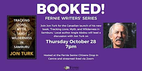BOOKED! Fernie Writers' Series : Jon Turk tickets
