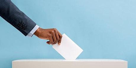 Community Voices III: Addressing Voter Suppression tickets