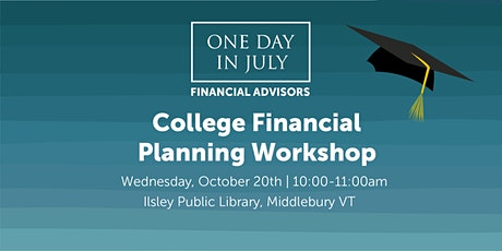 College Financial Planning Workshop - Middlebury tickets