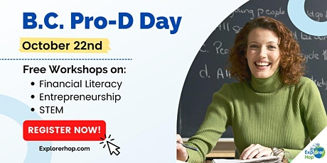Free Pro-D Day Workshops for BC Teachers tickets