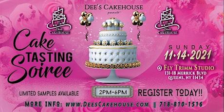 Cake Tasting Soiree tickets