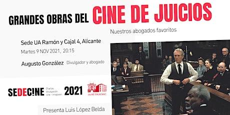 """Charla """"Grandes obras del cine de juicios: nuestros abogados favoritos"""" entradas"""