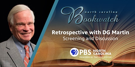 PBS NC Screening of North Carolina Bookwatch Retrospective with DG Martin tickets