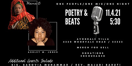 One People, One Mic, One Night with Ashley M. Jones and Mama C tickets