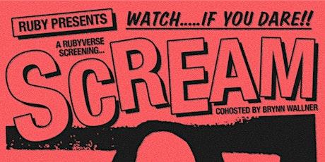 Ruby Presents: SCREAM co-hosted by Brynn Wallner tickets
