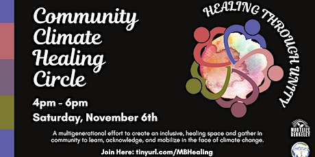 Mobilize Berkeley Community Climate Healing Circle tickets