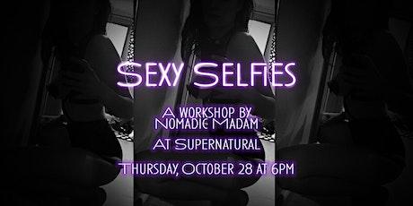 Sexy Selfies Workshop tickets