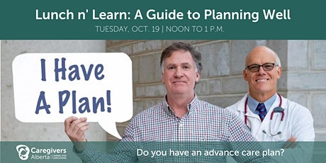 Lunch 'n Learn: A Guide to Planning Well tickets