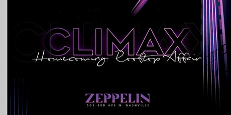 Climax: Homecoming Rooftop Affair tickets