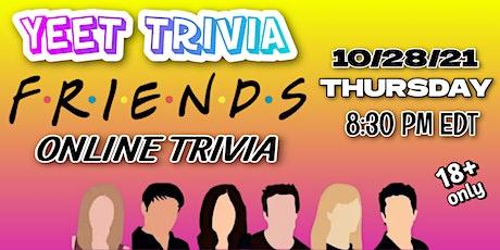 'Friends' Virtual Trivia Night tickets