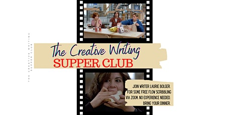 The Creative Writing Supper Club Wednesday 3rd November 2021 tickets
