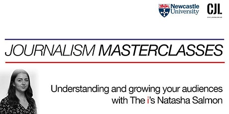 Understanding and growing your audiences with The i's Natasha Salmon tickets