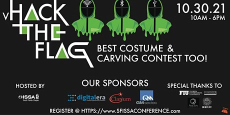 2021 SFISSA Hack the Flag Conference and NO QRTR C tickets