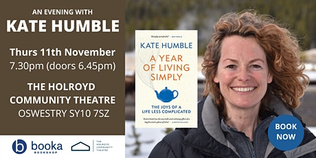 An Evening with Kate Humble tickets