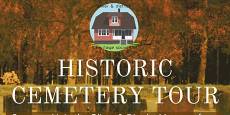 Historic Cemetery Tour- SOLD OUT tickets