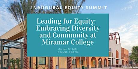 San Diego Miramar College Inaugural Equity Summit tickets