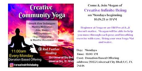 Creative Community Yoga tickets