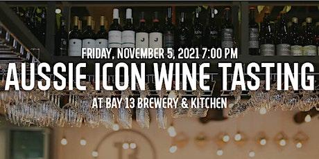Aussie Icon Wine Tasting at Bay 13 Brewery tickets