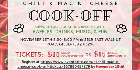 Chili & Mac N Cheese Cook-Off tickets