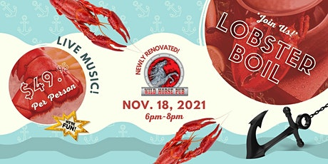 Wild Horse Pub - Lobster Boil tickets
