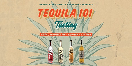 Tequila 101 Tasting tickets