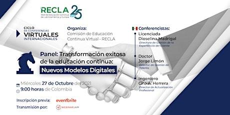 Transformación exitosa de la EC. Nuevo modelos digitales entradas