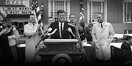 JFK visits Fort Worth tickets