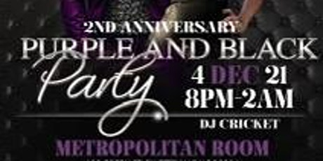 """TGG """"AIRBORNE QUES"""" 2ND ANNIVERSARY...PURPLE AND BLACK PARTY tickets"""