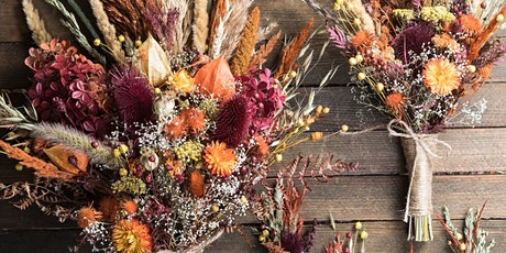 Autumn Themed Dried Floral Class tickets