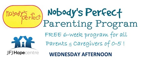 Nobody's Perfect Parenting Program tickets