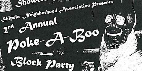 Poke-A-Boo tickets