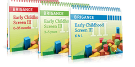 Copy of Brigance Screen III for Childcare Providers tickets