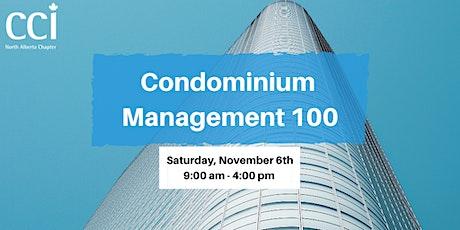 Condominium Management 100 (CCI Seminar) tickets