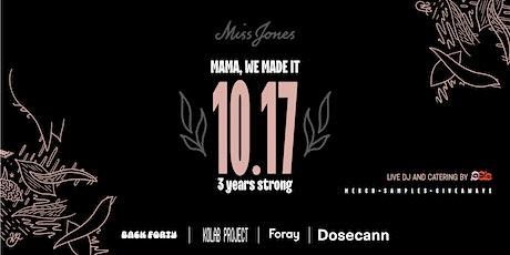 10.17 with Miss Jones tickets